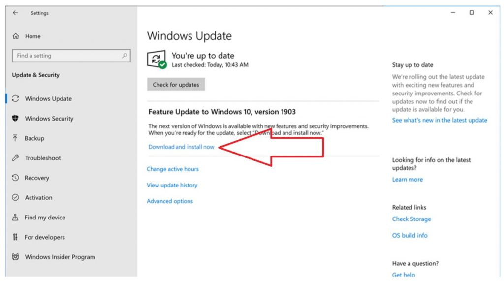 Install All Available Windows Updates - Screenshot
